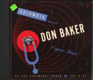 C92-DonBaker-OrganMusic